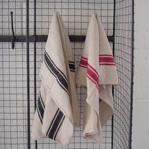 Other - 🆕 set/2 french stripe woven kitchen towels